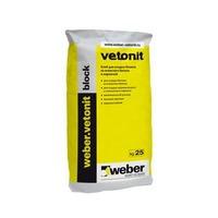 Клей для газо - пенобетонных блоков WEBER VETONIT Block 25 кг