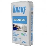 Клей плиточный КНАУФ Мрамор белый 25кг