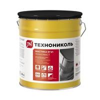 Мастика битумная Технониколь №21 ТехноМаст 20 кг