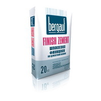 Шпатлёвка Bergauf Finish Zement цементная 20кг
