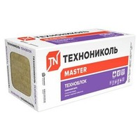 Базальтовая вата Технониколь Техноблок Стандарт 1200х600х100мм 4 плиты в упаковке