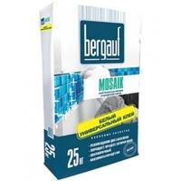 Клей для плитки белый Bergauf Mosaik 25 кг 56шт/под Бергауф