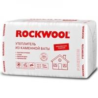 Утеплитель Rockwool ЭКОНОМ 1000х600х100 мм (4шт/2,4 м2 уп/0,24 м3)