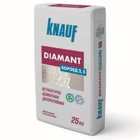 Штукатурка цементная декоративная Knauf Диамант Короед