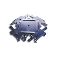 Соединитель одноуровневый (краб) для ПП 60х27 Эконом