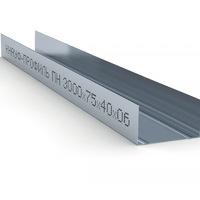 Профиль Направляющий (ПН-4 Кнауф) (75*40) 0,6мм L=3м